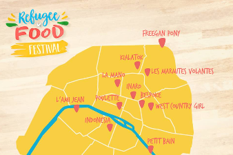 Refugee Food Festival Paris 19 June-21st June 2016