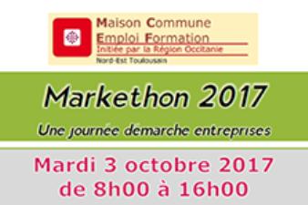 Journée Markethon pour l'emploi ,  journée« démarche auprès des entreprises » !