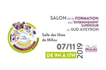 3ème édition du Salon de la formation et de l'enseignement supérieur en Sud Aveyron