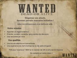 Initiative Essonne à l'affût de parrains / marraines !