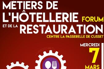 Forum Métiers de l'Hôtellerie et de la Restauration