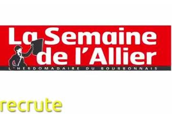 La semaine de l'Allier recrute un(e) commercial(e)