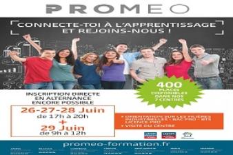 Portes ouvertes chez PROMEO les 26, 27, 28 et 29 juin