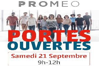 Journée Portes Ouvertes chez PROMEO Amiens : samedi 21 septembre de 9h à 12h