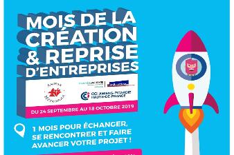 MOIS DE LA CREATION ET REPRISE D'ENTREPRISE 2019