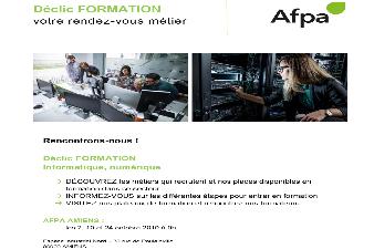 Déclic FORMATION AFPA AMIENS