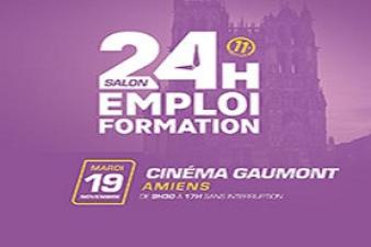 24 H POUR L'EMPLOI ET LA FORMATION AMIENS