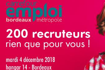 Carrefour Emploi Bordeaux Métropole