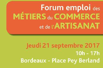 Forum Emploi artisanat et commerce