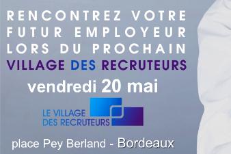 20 entreprises recrutent à Bordeaux le 20 Mai !
