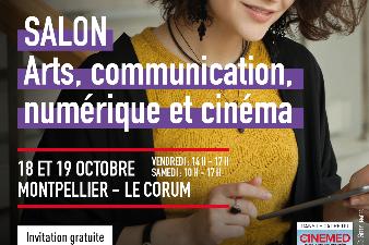 Salon Arts, communication, numérique et cinéma