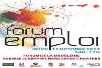 Forum Emploi à Chartres