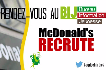 Recrutement Mc Donald's