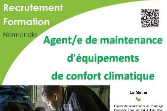 AGENT DE MAINTENANCE D'EQUIPEMENTS DE CONFORT CLIMATIQUE