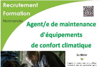 AGENT DE MAINTENANCE D'EQUIPEMENTS DE CONFORT CLIMATIQUE - AFPA Evreux