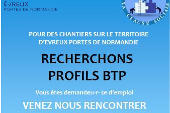 Réunion d'information collective dans le secteur du BTP