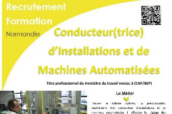 CONDUCTEUR D'INSTALLATIONS ET DE MACHINES AUTOMATISEES