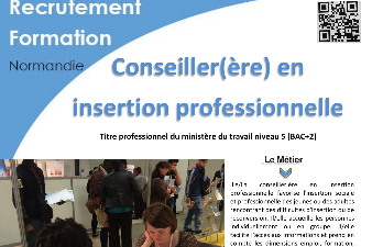 FORMATION CONSEILLER EN INSERTION PROFESSIONNELLE - AFPA EVREUX