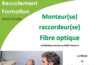 MONTEUR RACCORDEUR FIBRE OPTIQUE - AFPA