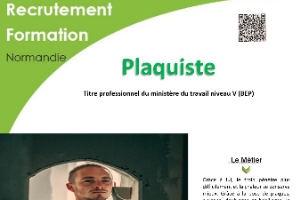 FORMATION AFPA - PLAQUISTE