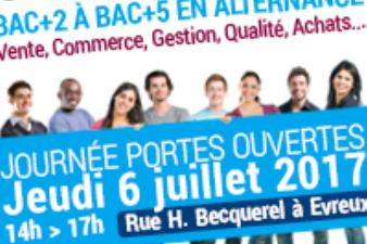 Journée Portes Ouvertes Ecoles Supérieures de la CCI Portes de Normandie