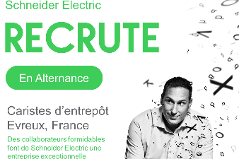 SCHNEIDER ELECTRIC RECRUTE EN ALTERNANCE !