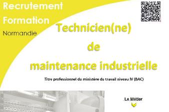 FORMATION AFPA - TECHNICIEN DE MAINTENANCE INDUSTRIELLE