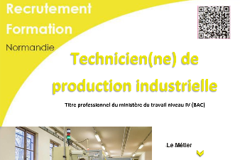 FORMATION AFPA - TECHNICIEN DE PRODUCTION INDUSTRIELLE