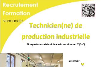TECHNICIEN DE PRODUCTION INDUSTRIELLE - AFPA EVREUX