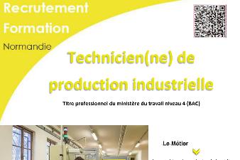 TECHNICIEN DE PRODUCTION INDUSTRIELLE