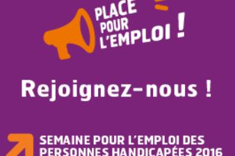 du 14 au 20 novembre : semaine pour l'emploi des personnes handicapées
