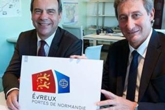 Le Grand Evreux Agglomération devient Evreux Portes de Normandie - nouveau logo