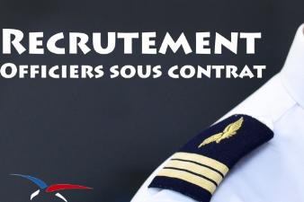 L'armée de l'air recrute des officiers sous contrat : recrutements en cours
