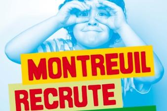Montreuil recrute des animateurs !