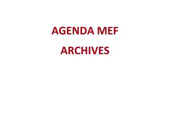 Archives Agendas mensuels