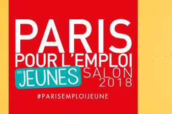 Salon Paris pour l'Emploi des Jeunes le 6 mars