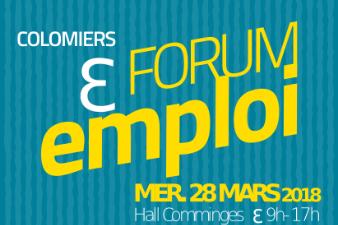 Forum Emploi Colomiers mercredi 28 mars
