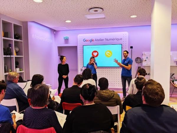Salle Google Ateliers Numériques