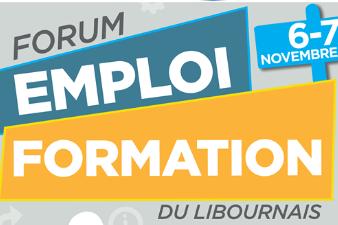 Salon Emploi / Formation - 6 et 7 nov - Libourne