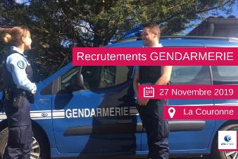 Recrutement Gendarmerie - 27 nov - La Couronne (16)