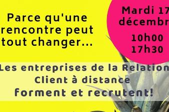Journée de l'emploi dans la Relation clients à distance - 17 déc. - Mérignac