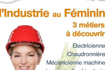 Découverte Métiers : L'Industrie au Féminin - 3 déc. - Braud-et-Saint-Louis (33)