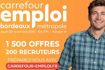 Carrefour Emploi - 28 nov - Bordeaux