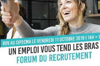 Forum du recrutement - 11 oct. - Châtelaillon-Plage (17)