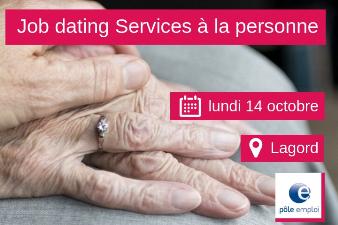 Job Dating Services à la personne - 14 oct. - Lagord (17)