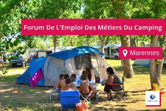 Forum Emploi des métiers du Camping - 21 janv - Marennes (17)