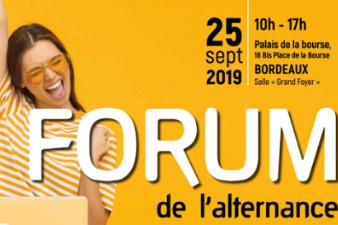 Forum de l'alternance - 25 sept - Bordeaux