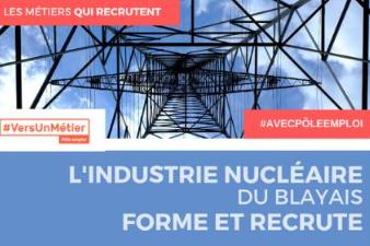 L'industrie nucléaire forme et recrute, Blaye