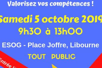 Salon Métiers et Formations- 5 oct - Libourne