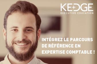 LE PARCOURS D'EXPERTISE COMPTABLE, UN TREMPLIN VERS L'EMPLOI AVEC KEDGE BUSINESS SCHOOL